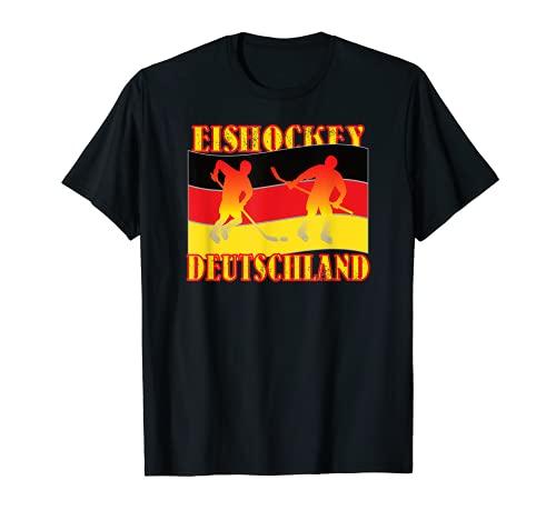 Lustiges Hockey Hobby Sport Motiv mit Spruch als Eishockey T-Shirt