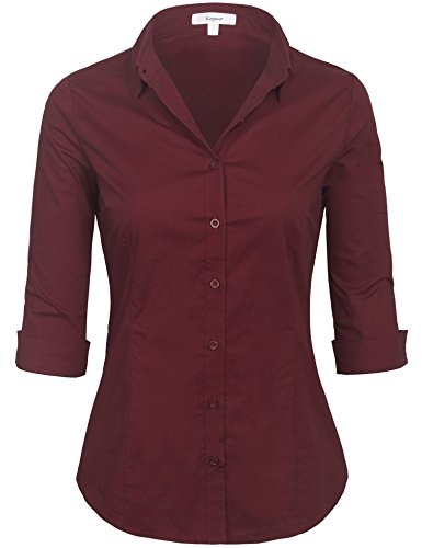 Crinkle Cotton Shirts Womens