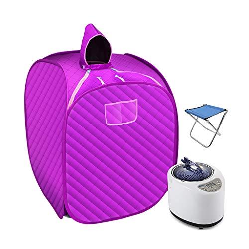 HHMMG Portable Dampfsauna, Mobile Dampfsauna für zuhause, Verbesserte Begasungsmaschine, geeignet für Entgiftung und Schönheit (Color : B, Size : Single)