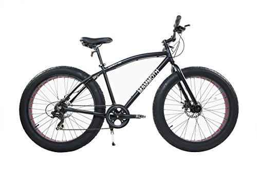 Alton Corsa Mammoth 26' Wheel 7-Speed Alloy Frame Bike, Black, 20'/Large