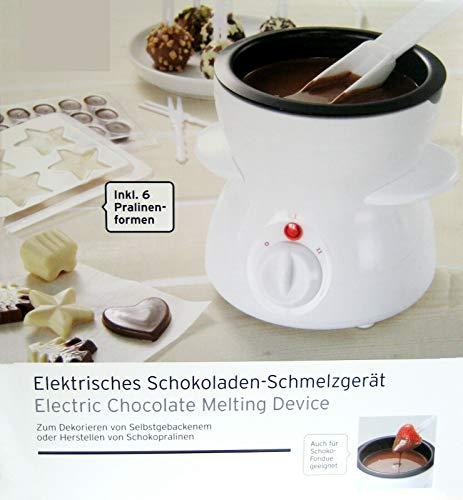 TCM Tchibo Elektrisches Schokoladen Schmelzgerät - 18tlg.