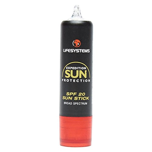 Lifesystems – Expedition Sun Lip Salve SPF20, Couleur Black