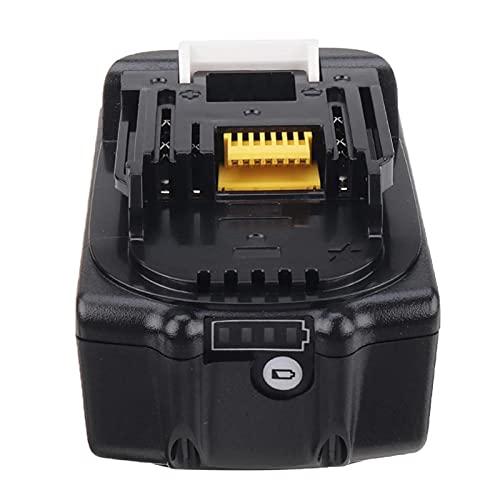 18 V 5.0AH 6.0AH BL1860 Batería de Ion Litio para Makita BL1830 BL1840B BL1850 BL1860B Baterías de reemplazo de Herramientas eléctricas Recargables, Batería, YLLLLY-6686