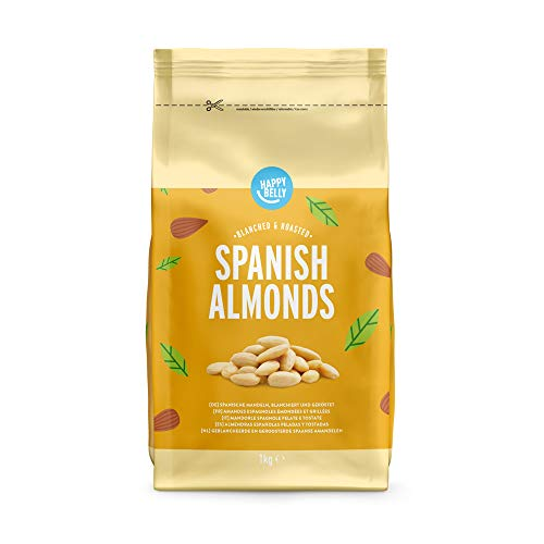 Amazon-Marke: Happy Belly Spanische Mandeln 1000gr