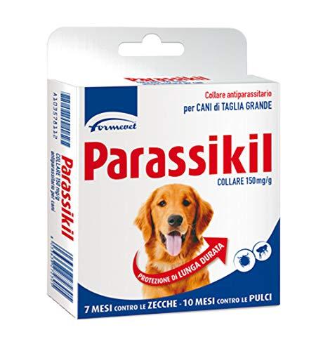 Parassikil Collare, 150 MG/G - Collare Antiprassitario per Cani di Taglia Grande