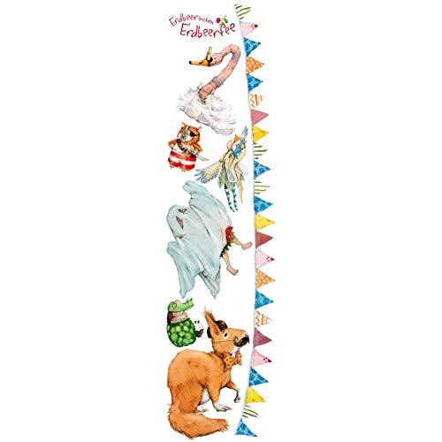 Bilderwelten Wandtattoo - Erdbeerinchen Erdbeerfee - Kostümparty, Größe: 160cm x 40cm