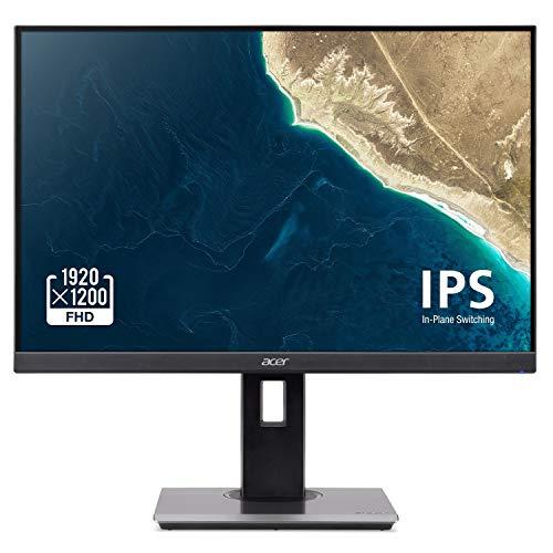 Acer B247W bmiprzx 24' Full HD (1920 x 1200) IPS Monitor - 4ms Response Time | 16:10 Aspect Ratio (Display, HDMI & VGA Ports)