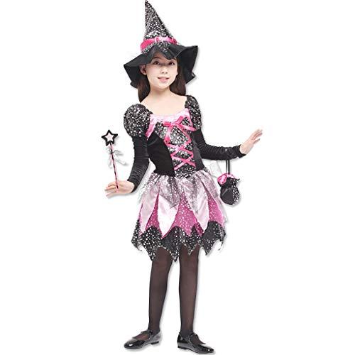 JPOYT-O Disfraz De Cosplay De Fiesta De Disfraces De Princesa para Niñas(Size:130-140CM)