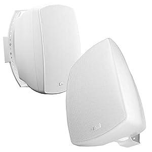 OSD Audio AP650Wht-70V 6.5-Inch 2 Way 8 Ohm/70V Commercial Indoor/Outdoor Speaker (White,2)