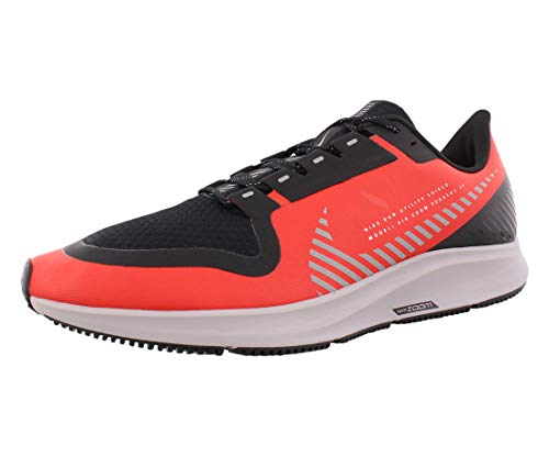 Nike Men's Air Zoom Pegasus 36 Shield Running Shoes (10.5, Red/Black)