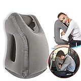 VinMas Reisekissen Schlafhilfe, Premium-Komfortable Aufblasbare Tragbare Kopfnackenstütze Kissen, Design für Flugzeuge, Autos, Busse
