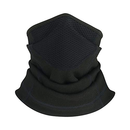 Neck Gaiter Warmer Winter Face Mask Cover for Cold Weather Windproof Breathable Ski Mask Outdoor Running Men