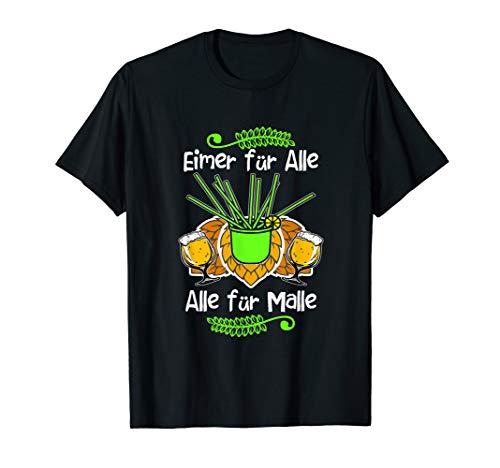 Mallorca Party Outfit Lustige Sprüche Bier Malle Saufen T-Shirt