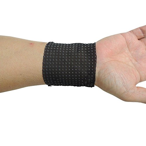 Best Buy! Far Infrared Acupuncture Therapy Wrist Brace (S, White)