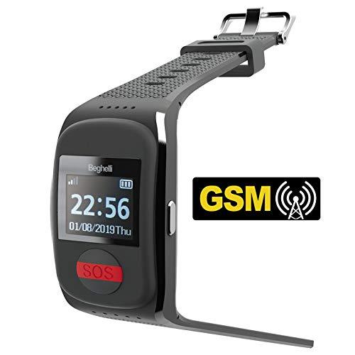 Salvalavita Watch GSM Beghelli - Orologio GSM per chiamate rapide di soccorso