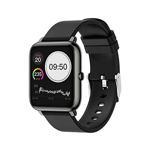 XQTEI IP67 reloj inteligente a prueba de agua pantalla completa táctil batería grande recordatorio inteligente recordatorio sedentario reloj de monitoreo de frecuencia cardíaca de presión arterial
