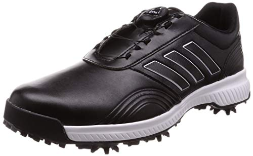 adidas Herren Cp Traxion Boa Golfschuhe, Schwarz (Negro/Gris Bd7140), 45 1/3 EU
