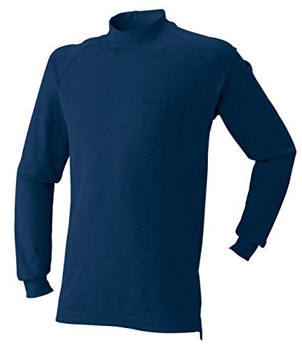 AT:1500-15 長袖ニットハイネックシャツ<br>2016年秋冬!<br>シンプルで合わせやすい!<br>[L 02: ネイビー]