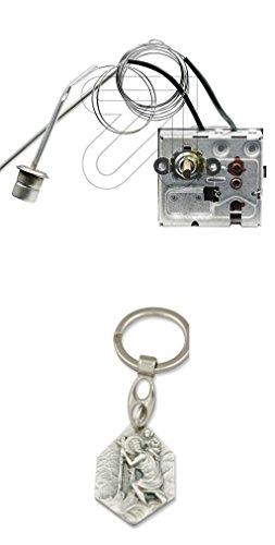 Unbekannt Thermostat für Heizlüfter Dania 5/9/15 K WYC126A-001 mit Anhänger Hlg. Christophorus