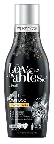 Lovables Seductive Darks Wasshampoo, wasmiddel, met micro-olie, 5 stuks (5 x 17 washandjes)