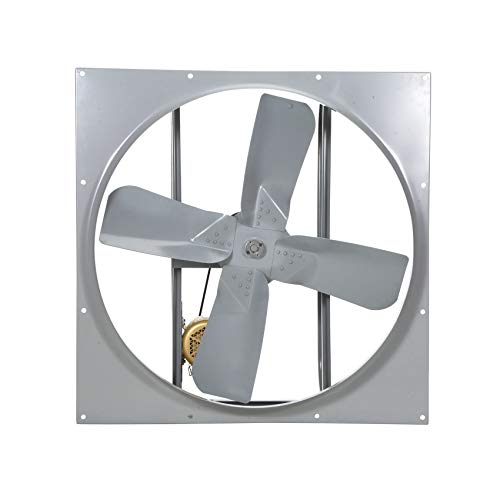 Find Discount Airmaster 42648 High Pressure Belt Drive Fan, Single Speed, Totally Enclosed, Single P...