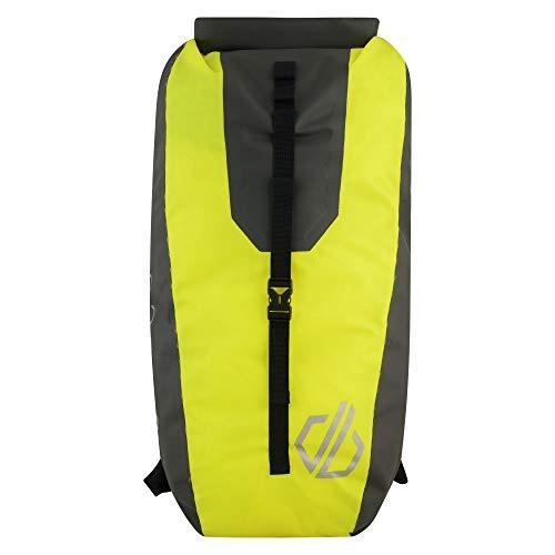 Dare 2b Wasserdichter, reflektierender, gepolsterter Rucksack für Herren von Ardus. Einheitsgröße Neongelb/Ebenholzgrau