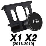 AYADA SupportTelephoneVoiture pour BMW X1 X2, Aimants Puissants Stable Rotation à 360° Mains Libres Montage Facile CarHolder CarMount CarPhoneHolder BMW X2 F39 BMW X1 F48 Accessoires (Magnet)