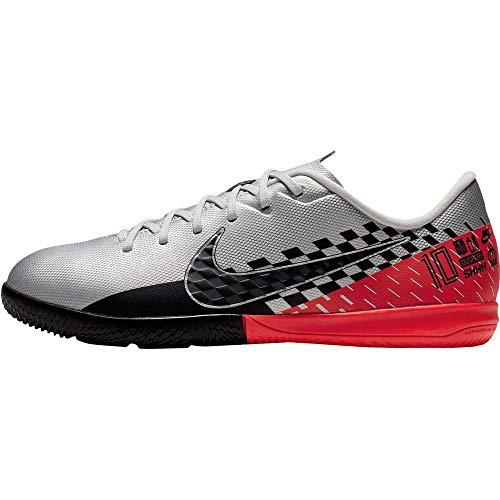 Nike Unisex-Kinder Mercurial Vapor 13 Academy Neymar Jr. Ic Fußballschuhe, Mehrfarbig (Chrome/Black/Red Orbit/Platinum Tint 6), 38 EU