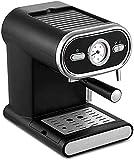 HRRF Máquina de café Espresso Máquinas Máquina de café semiautomática Extracción de Alta presión/Temperatura Constante de un Solo botón Adecuado