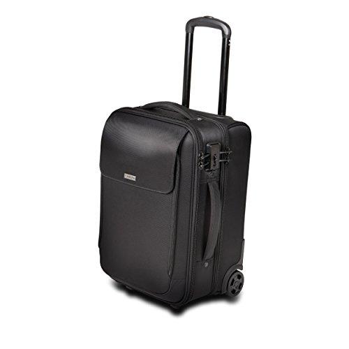 Kensington SecureTrek Overnight Laptop Roller - 17' TSA-Approved, Secure Notebook Roller Case with Anti-theft Security System (K98620WW)
