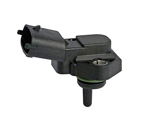 HELLA 6PP 013 400-011 Sensor, Ansauglufttemperatur, Anschlussanzahl 4, mit Dichtring