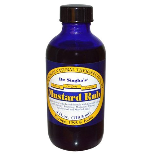 Dr. Singhas Mustard Bath Mustard Rub, 4 Oz by Dr. Singha's