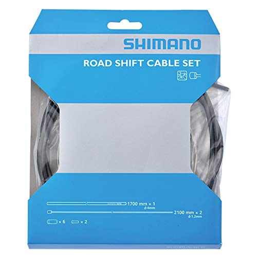 SHIMANO Road Shift Cable and Housing Set (Black)