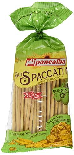 Panealba Grissini Spaccatini Olivenöl, 6er Pack (6 x 250 g)