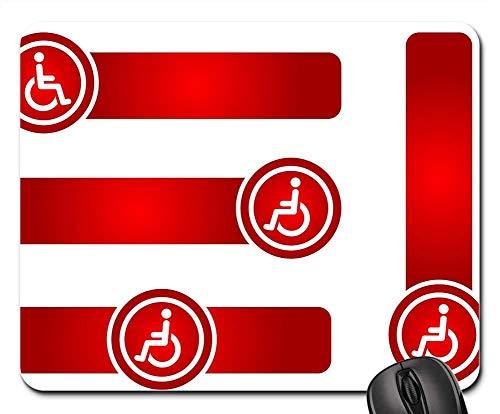 Mauspad Tape Sign Symbol Deaktiviertes Element Farbverlaufspfeil 25X30 cm