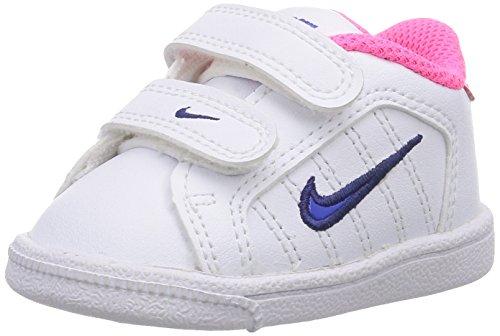 Nike Court Tradition 2 Plus (TDV), Zapatos de bebé niña, Blanco, 23.5