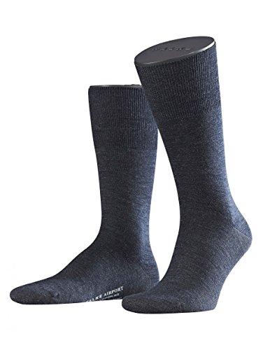 FALKE Falke 14435 Herrensocken, Größe: 47/48, Blau (Blau)