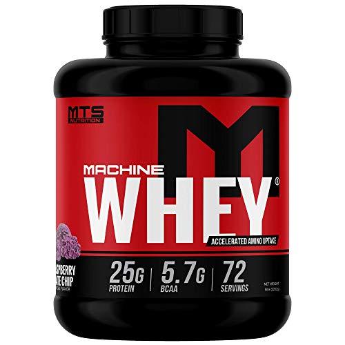 MTS Machine Whey Protein (5lbs, Black Raspberry Chocolate Chip)
