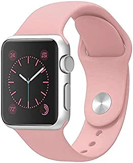 Zege compatible with Apple Watch Band 42mm 44mm,Soft Silicone Fitness Replacement Accessories Straps Wristbands for iWatch...