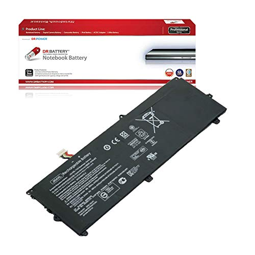 DR. BATTERY Laptop Battery for HP JI04XL Elite x2 1012 G2 901247-855 901307-541 HSTNN-UB7E [7.7V/5810mAh/47.04Wh]