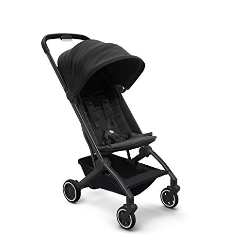 Joolz AER Baby Stroller, Lightweight and Compact for Travel,6 Months to 50 lbs, Refined Black