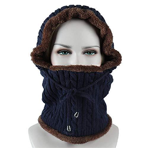 KCCCC Gorras de Esquí de Invierno Unisex de la Gorrita Tejida del Sombrero el más Suave de Invierno Añadir Calientes Protección y Holgados for Las Actividades al Aire Libre Durante Sombrero Cálido