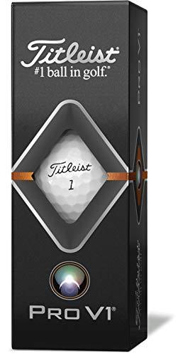 タイトリスト(TITLEIST)ゴルフボール2019ProV1ダブルナンバーユニセックスT2026S-LEJホワイト