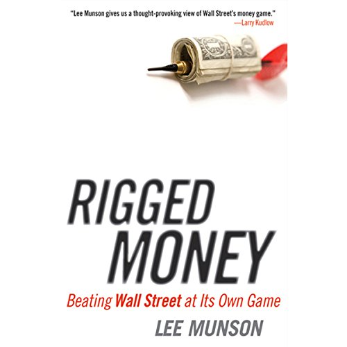 Rigged Money audiobook cover art