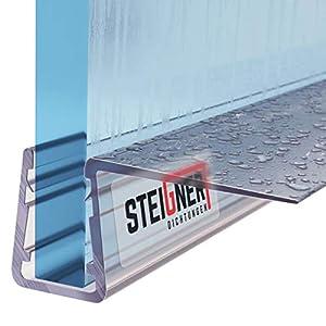 Junta para puerta de ducha (Espesor de vidrio 8 mm - 10 mm ...