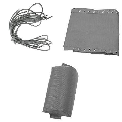 LOVIVER Kit de Paño de Tela Resistente + Cordón Elástico + Almohada Reposacabezas Recambio de Accesorios para Silla Reclinable - B