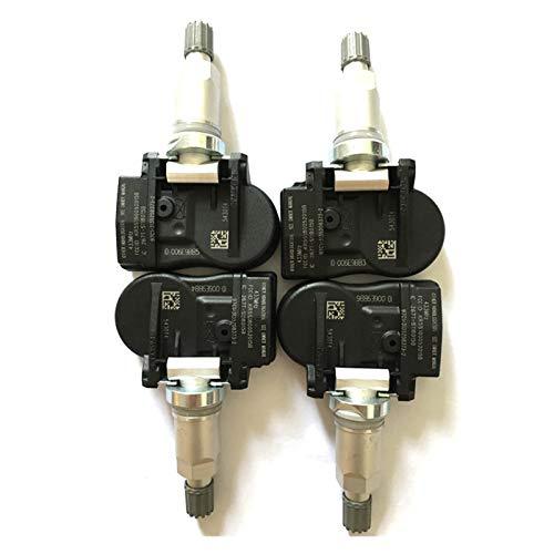 LYDBM para Peugeot 207 307 407 508 607 807 1007 para el Sensor de presión de neumáticos Citroen C4 C5 C5 C8 (Color : 4pcs)