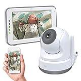 ELRO Baby BC3000 Babyphone Royale-Babyfon-mit 12,7 cm Touchscreen Monitor HD-und App
