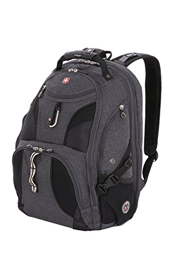 Swiss Gear SA1923 Slate Cement TSA Friendly ScanSmart Laptop Backpack - Fits Most 15 Inch...