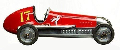 Rotes BB Korn Speedmodellauto, Modell Rennwagen, Spindizzy Modell Auto